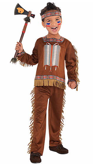 "A ""toddler boys native American costume"" from Party"