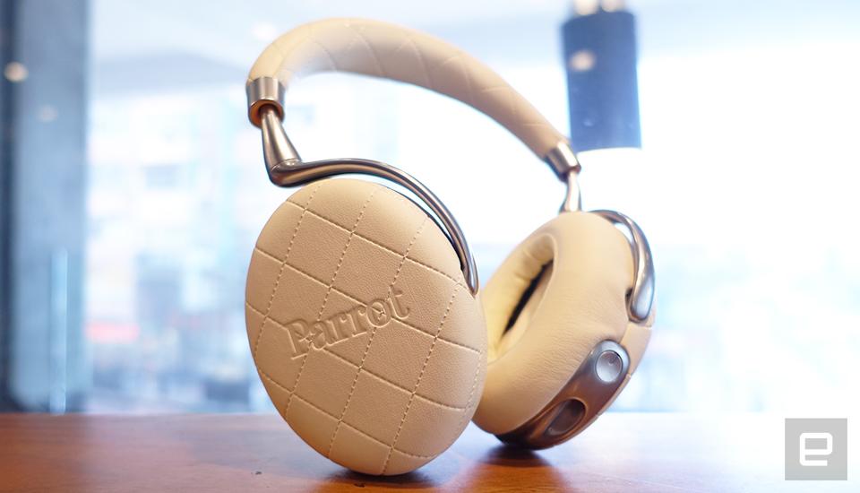 Parrot Zik 3 无线耳机动手玩,功能性满满!