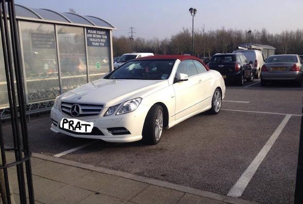 A parked prat