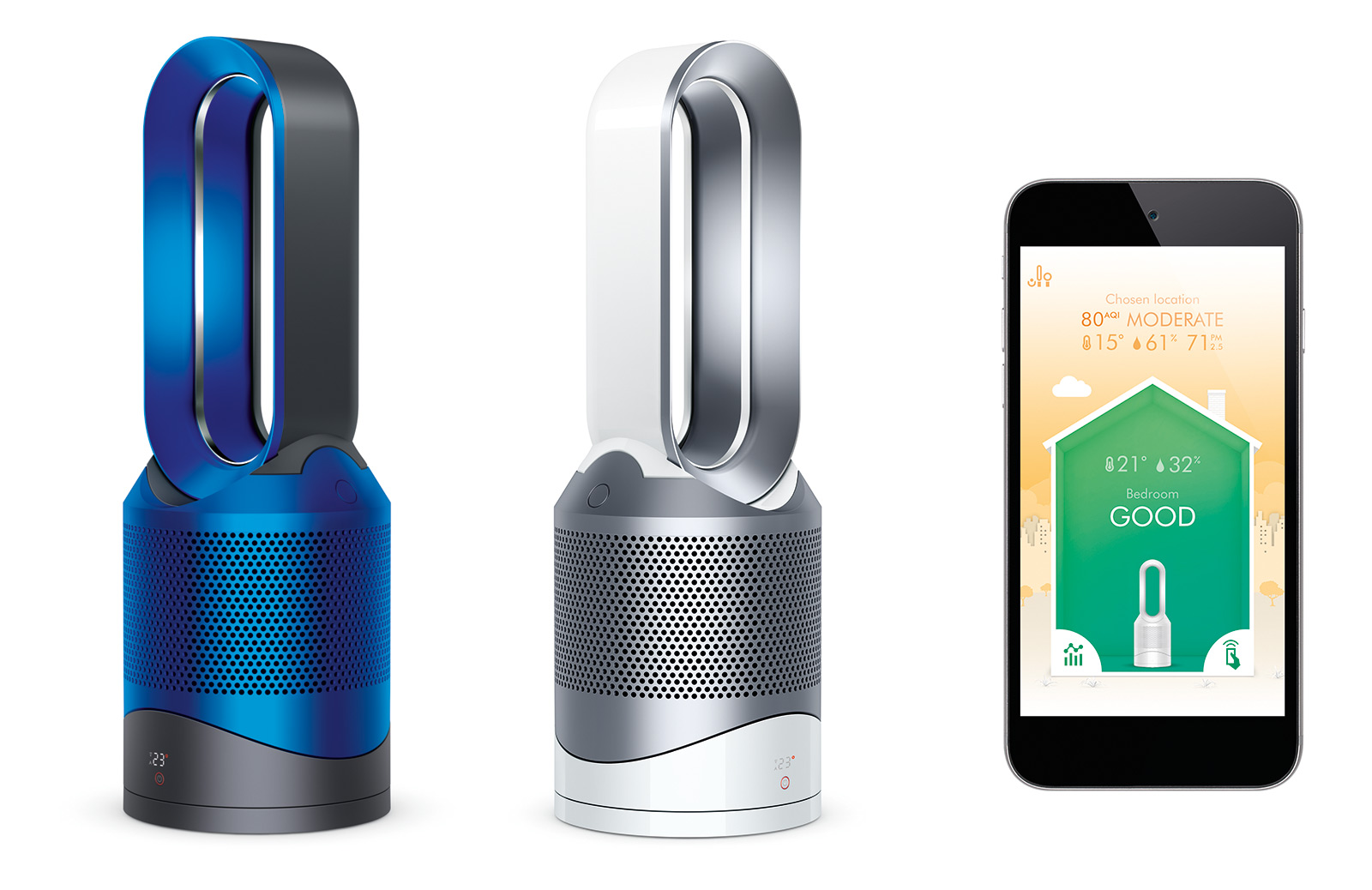Dyson's New $600 Smart-Fan Heats, Cools, and Purifies Air