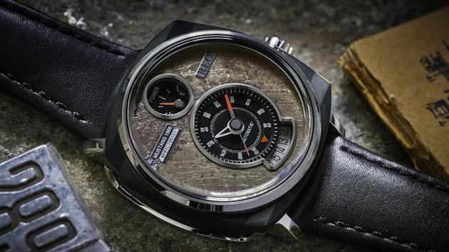廃車になった初代フォード「マスタング」の車体から製作される腕時計