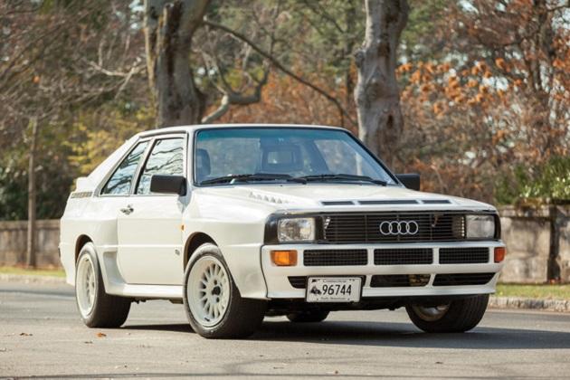 予想落札価格は約6,000万円! 1984年型アウディ「スポーツ クワトロ」がオークションに出品