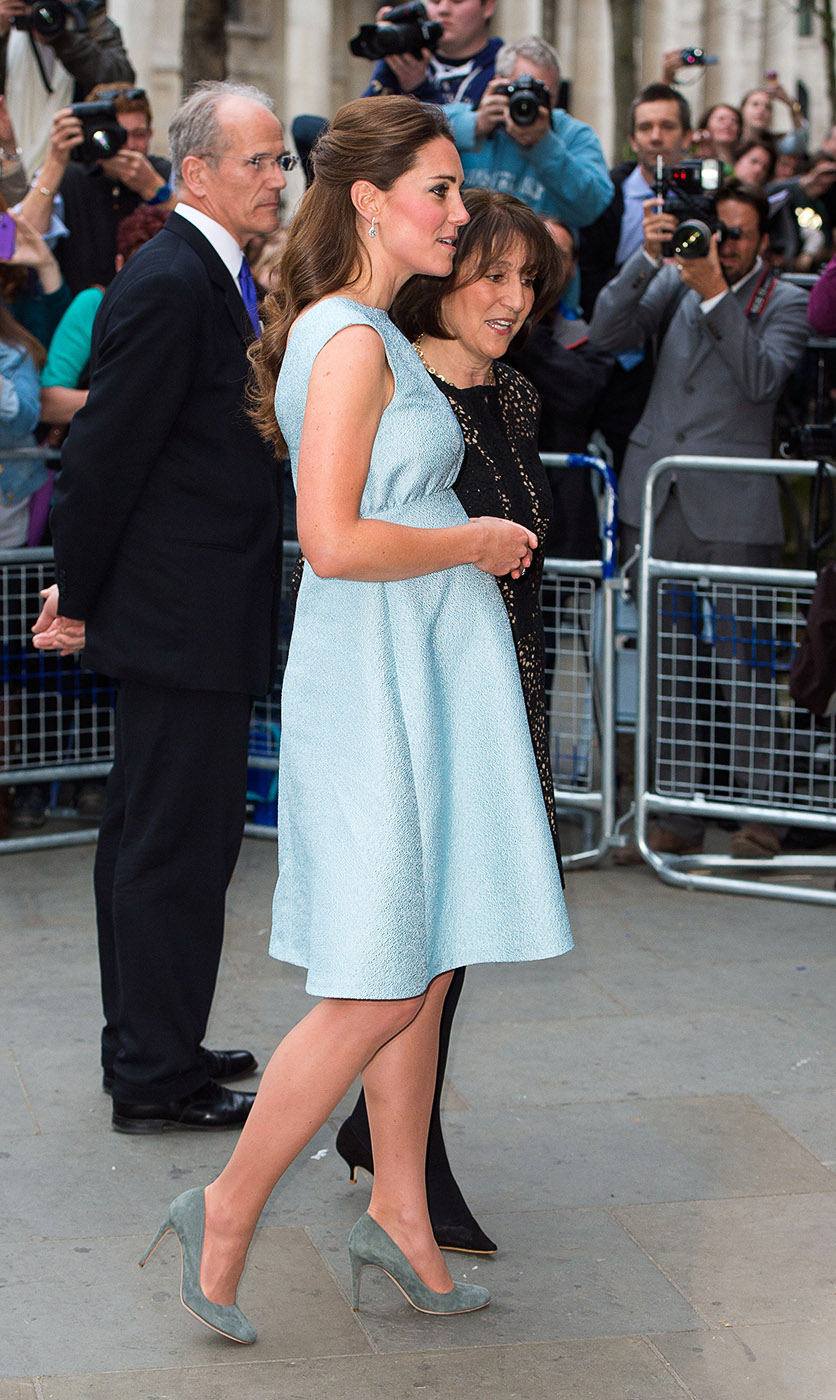 Kate Middleton Emilia Wickstead bespoke dress