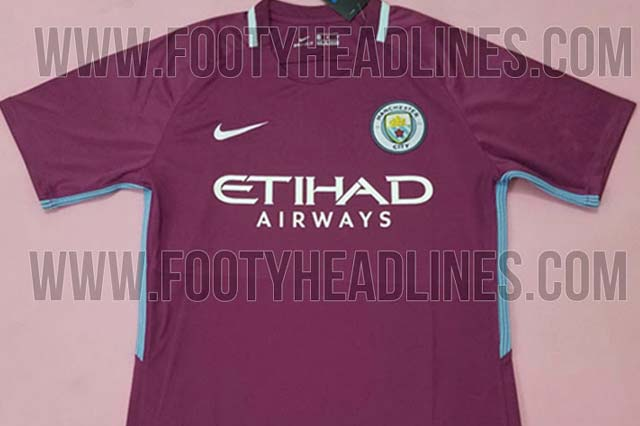 Leaked Manchester City 2017/18 shirt