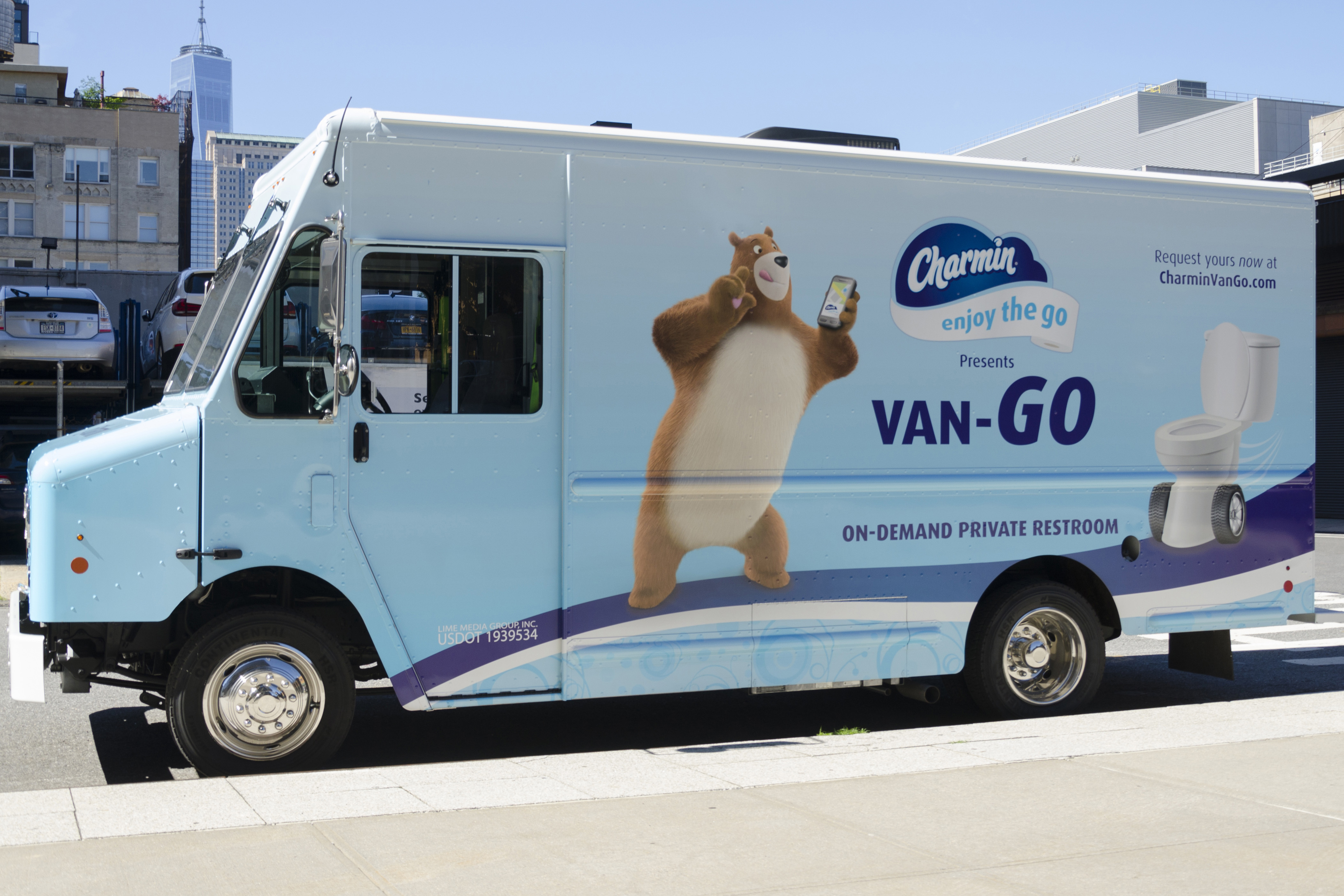 Charmin\'s \'Van-Go\' is the on-demand toilet NYC deserves