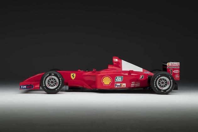 シューマッハが駆ったフェラーリのF1マシン、予想をはるかに上回る8億4千万円で落札!