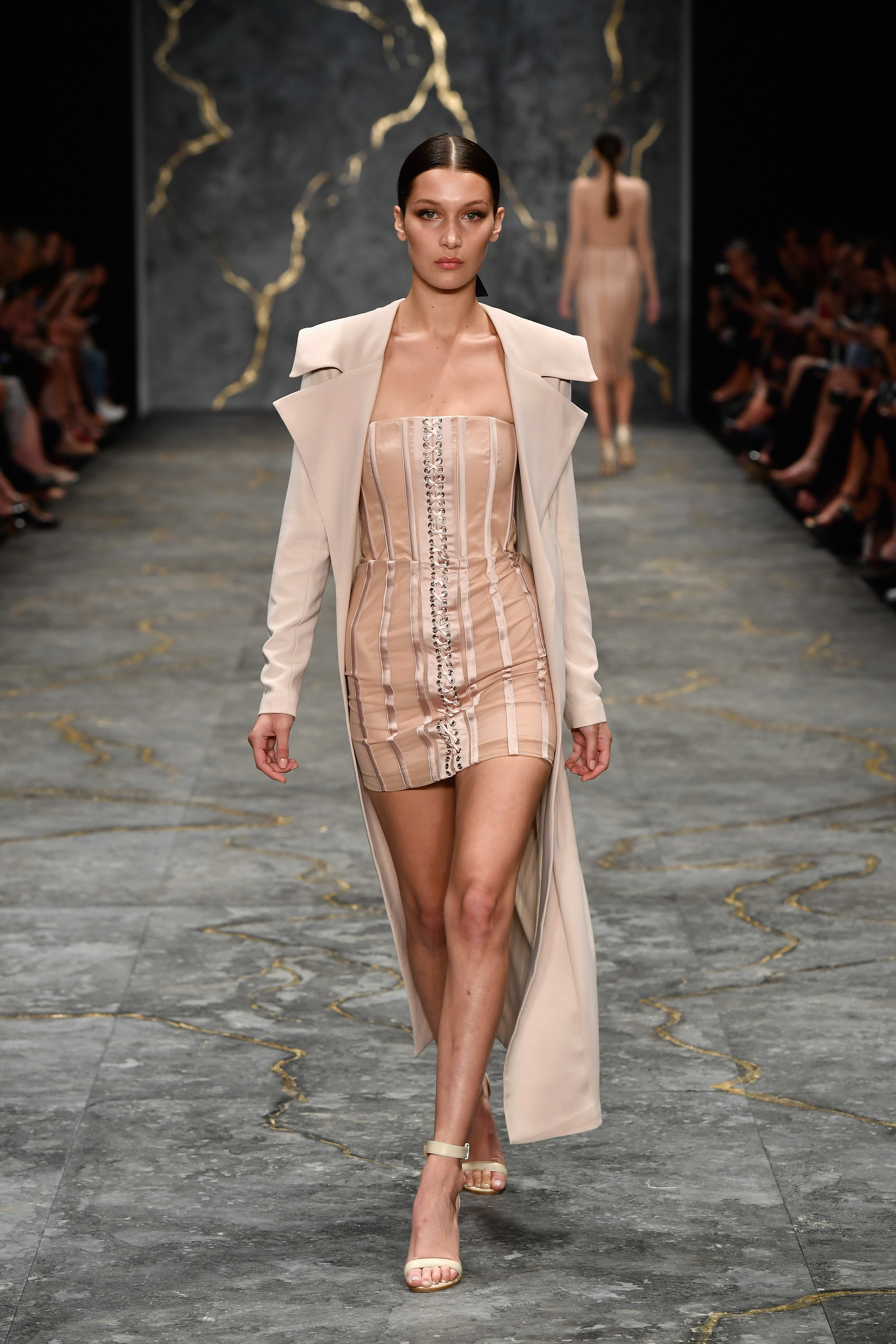 SYDNEY, AUSTRALIA - MAY 16: Model Bella Hadid walks the runway during the Misha Collection show at Mercedes-Benz...