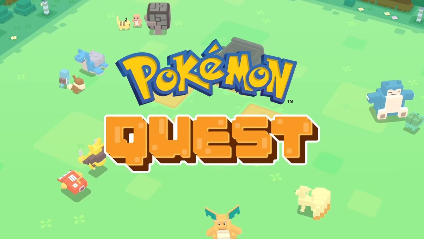 免费玩的《Pokémon Quest》RPG 式游戏即日上架