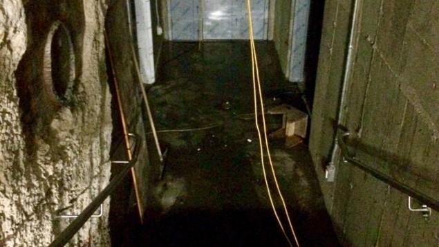 Une partie du sous-sol de l'hôtel de ville a été inondée par le bris de la conduite reliée à la fontaine...