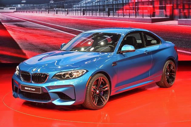 【北米国際自動車ショー2016】BMW、最もコンパクトな「M」の新型モデル「M2」を公開