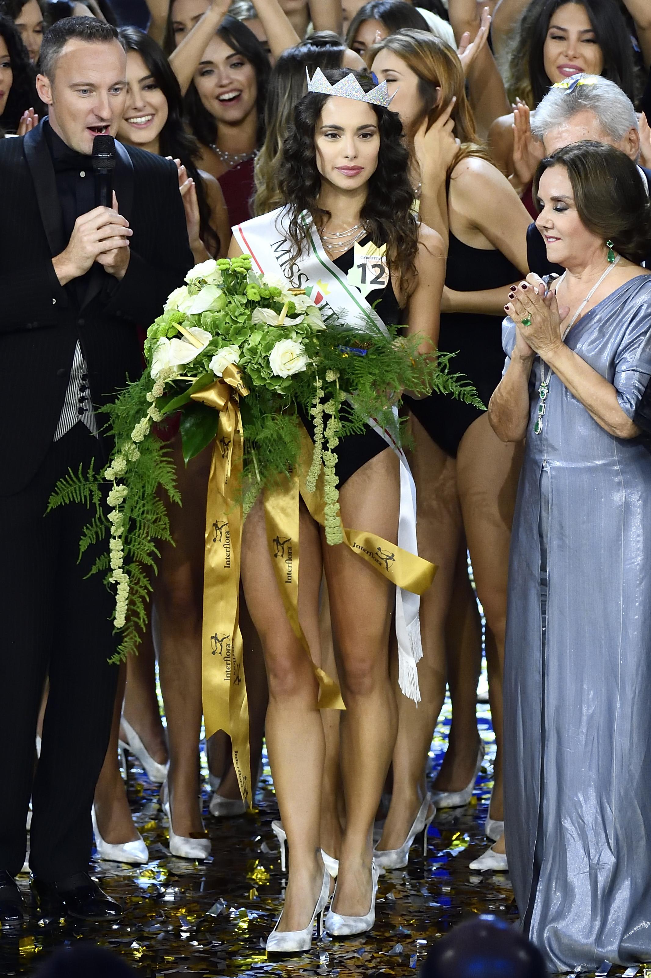 18/09/2018, Milano, finale di Miss Italia 2018. Nella foto Carlotta Maggiorana, Miss Italia
