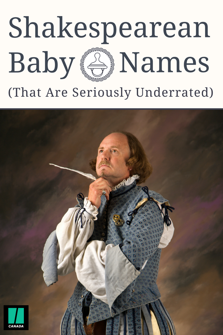 Shakespearean Baby Names That Are Seriously