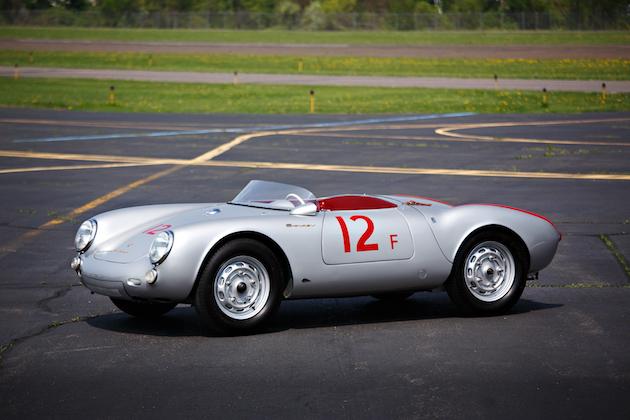 ポルシェの「スパイダー」を名乗る希少な4台がペブルビーチのオークションに登場! まずは1950年代の2台をご紹介