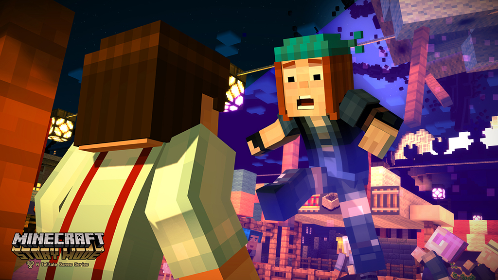 Minecraft With A Story Isn T As Weird As You D Think Engadget