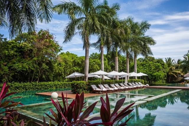 Grand Velas Riviera Maya swimming pools in Zen