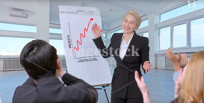 Emilia Clarke prouve encore une fois qu'elle ne manque pas