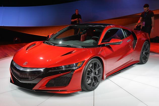 【北米国際自動車ショー2015】ホンダ(アキュラ)、新型「NSX」の市販モデルを初公開!
