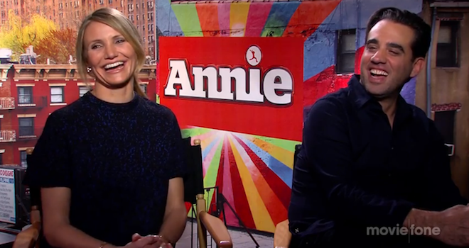 Annie Interview Cameron Diaz