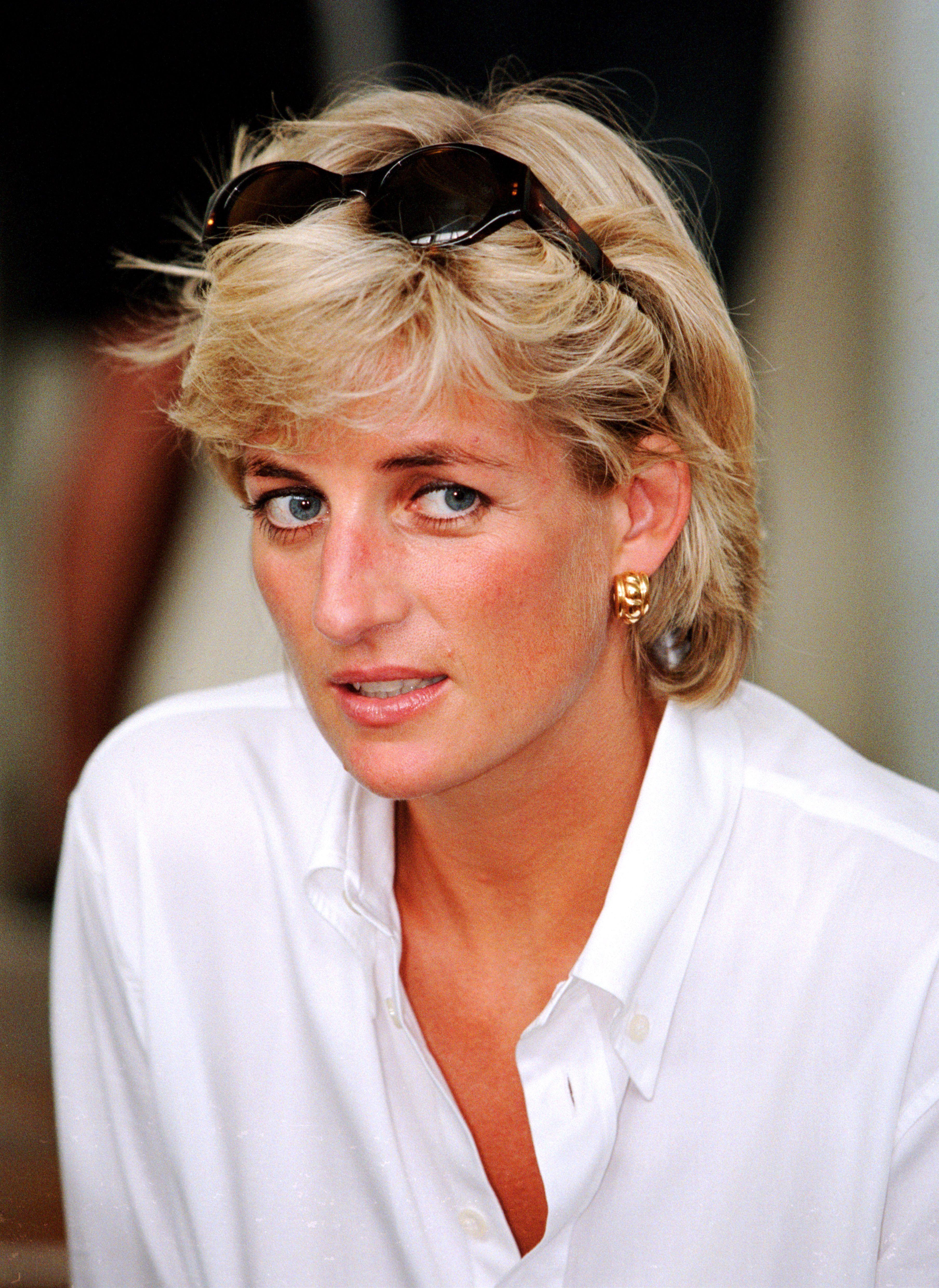 Princess Diana in Bosnia, August
