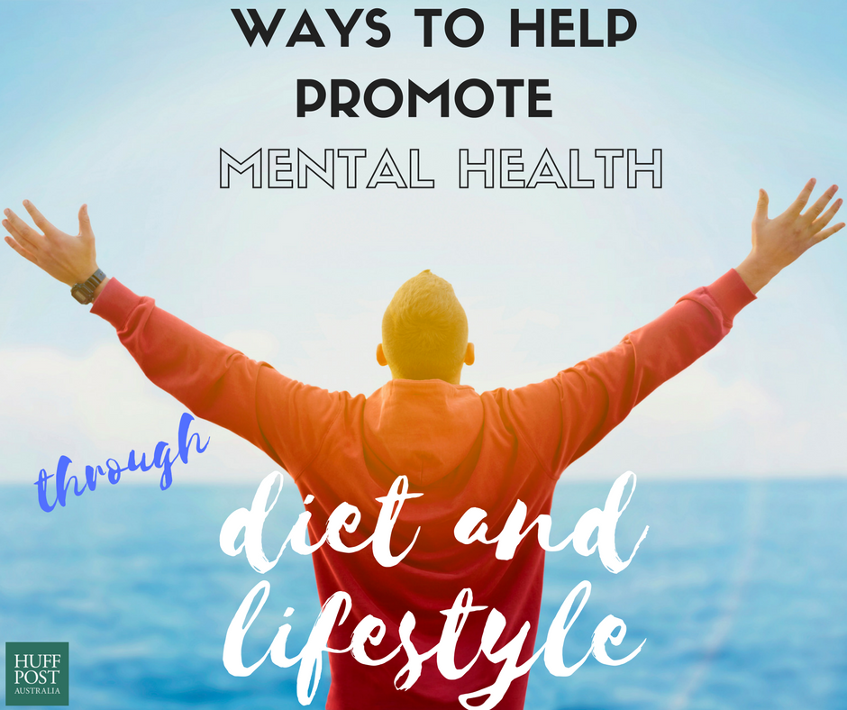 5 Ways To Promote Your Mental Health Through Diet And