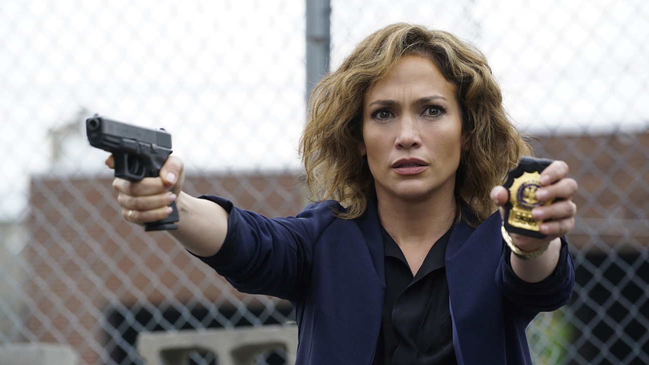 "SHADES OF BLUE -- ""Pilot"" Episode 101 -- Pictured: Jennifer Lopez as Detective Harlee Santos -- (Photo by: Peter Kramer/NBC)"