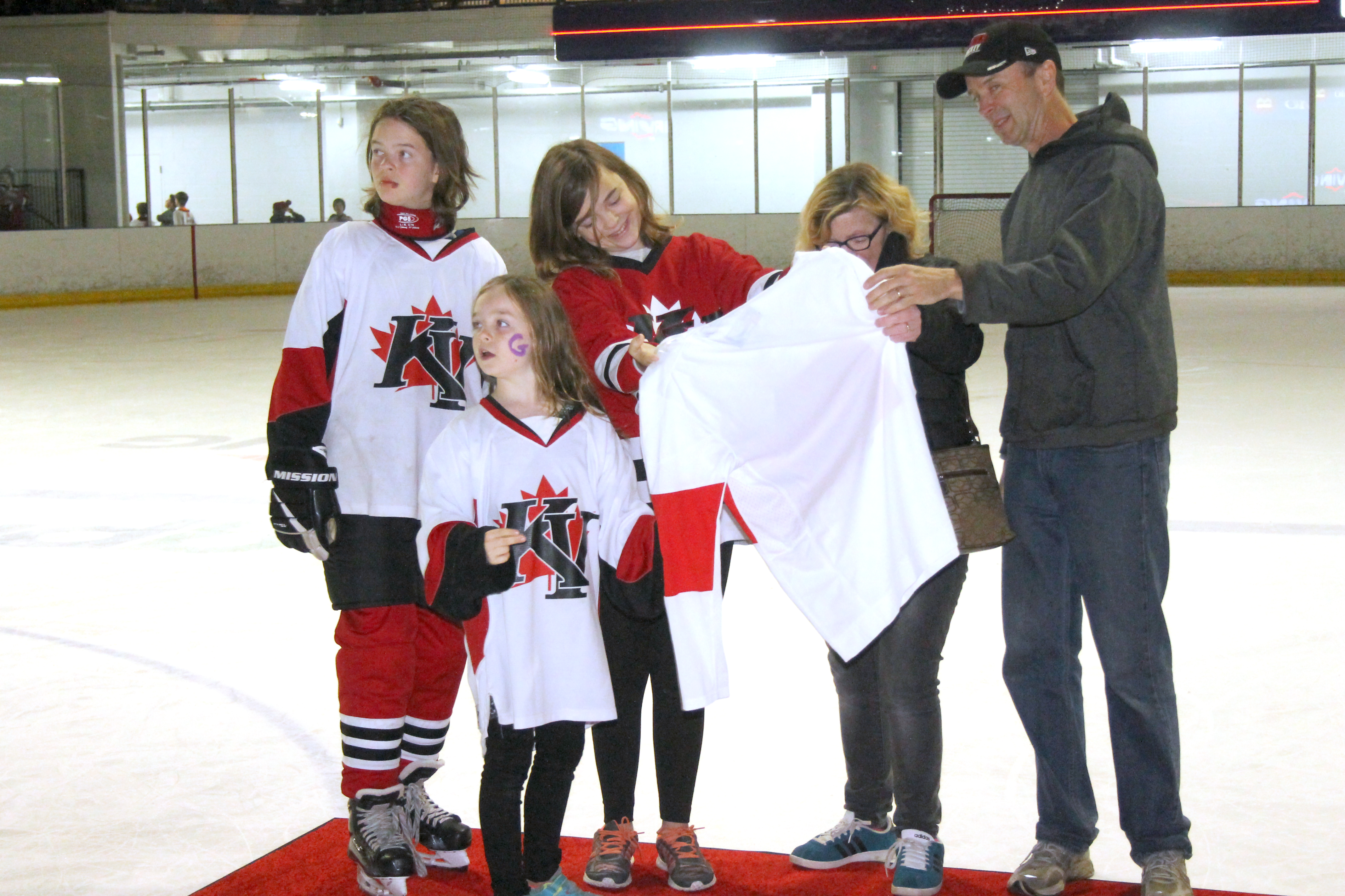New Brunswick's Hockey Community Is Rallying To Support A Girl With Brain