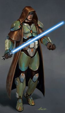 Jedi Guardian concept art