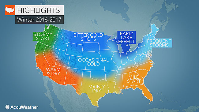 US Winter Forecast Frequent Snow To Blast Northeast Freeze May - Us snow forecast map