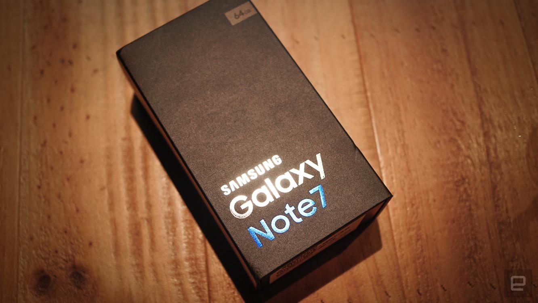 台版 Galaxy Note 7 开箱动手玩