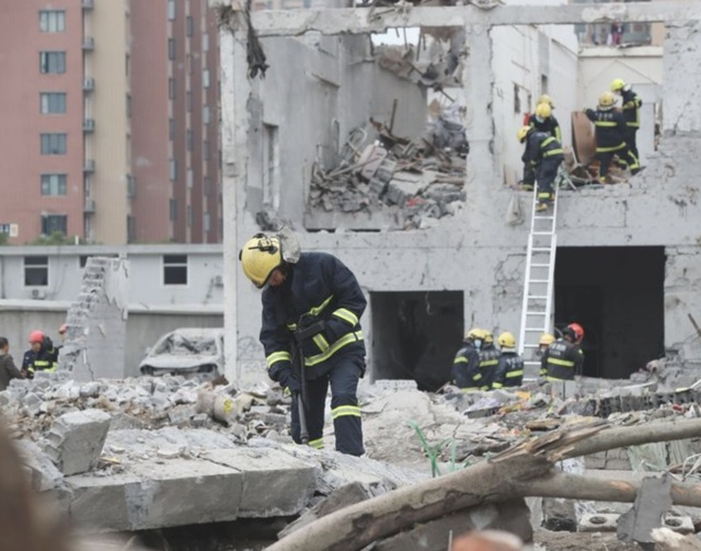'Many injured' after powerful explosion rocks Shanghai