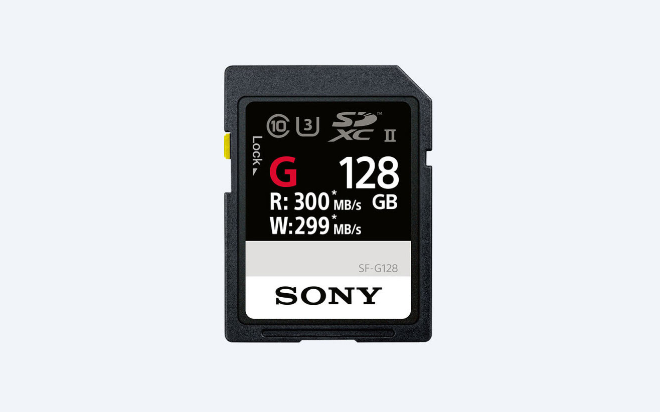 Sony's 'world's fastest' SD card writes data at 299 MB/s