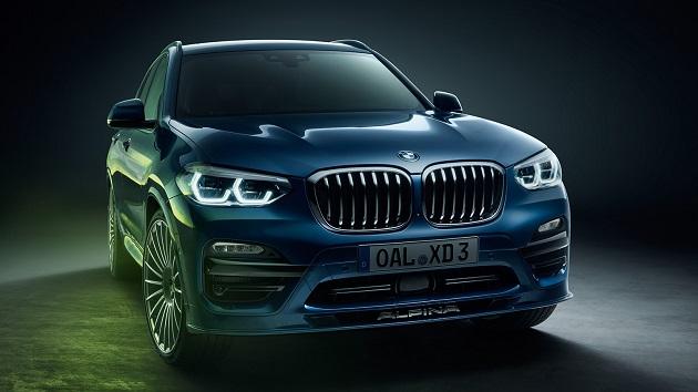 独チューナーのアルピナ、BMW「X3」に4基のターボを搭載したアルピナ「XD3」を発表