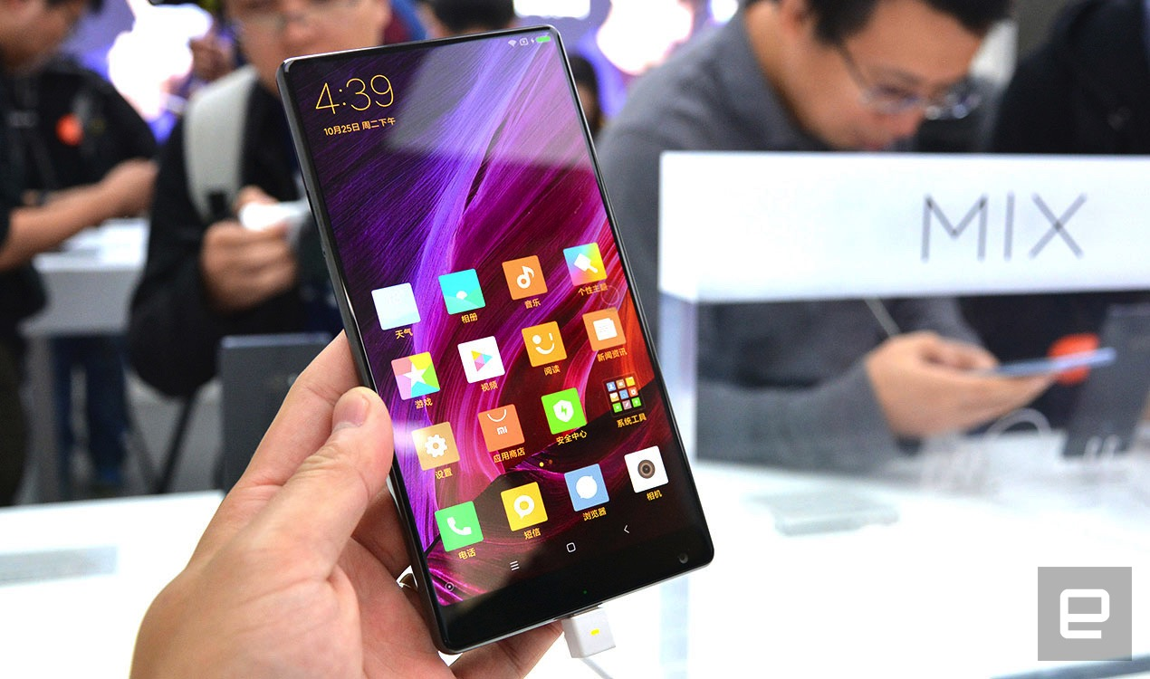 Tesla Update >> Xiaomi's Mi MIX is all about its gorgeous edge-to-edge display