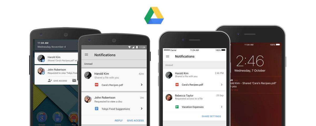 以后再收到分享文件,Google Drive 就会直接通知你了
