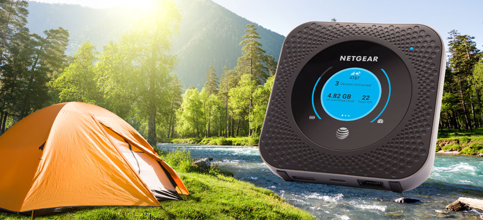 AT&T's Netgear mobile hotspot promises twice the speed of LTE (updated)