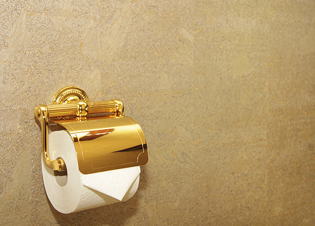 22-Carat Gold Toilet Paper Could Be Yours For £800,000