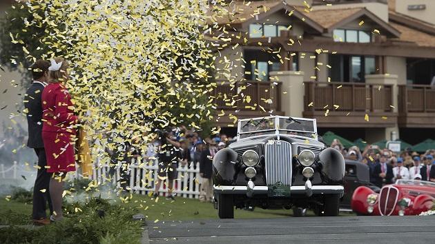 ピニンファリーナが手掛けたカブリオレ、1936年型ランチア「アストゥーラ」がペブルビーチの「ベスト・オブ・ショー」を受賞