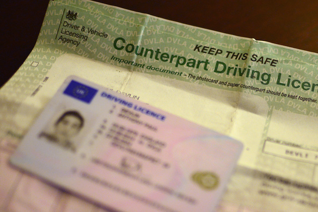how to change your address on driving licence