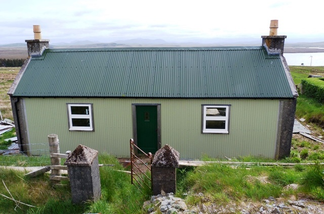 The Isle of Lewis shack