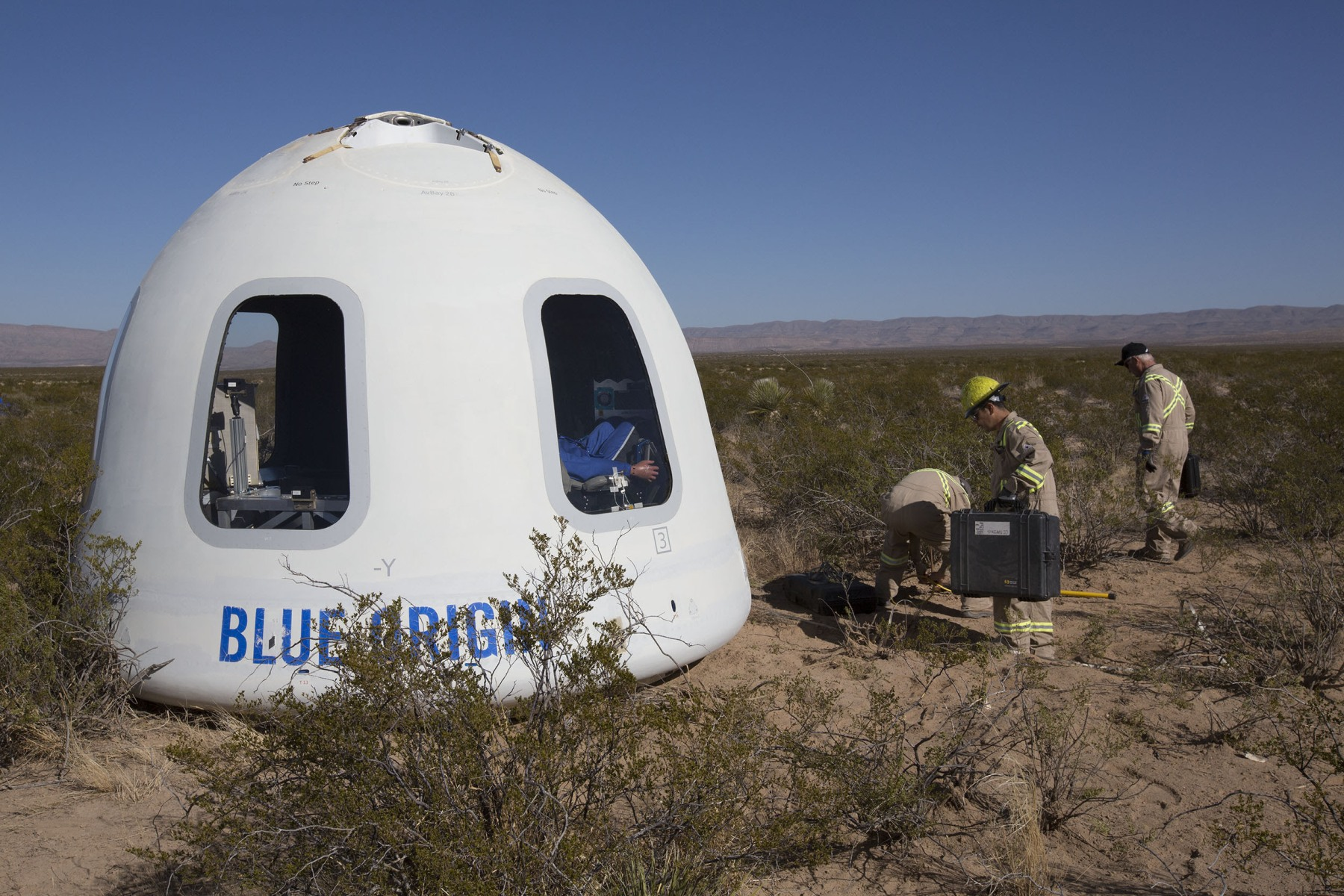 Blue Origin tests Crew Capsule 2.0 with'biggest windows in space'