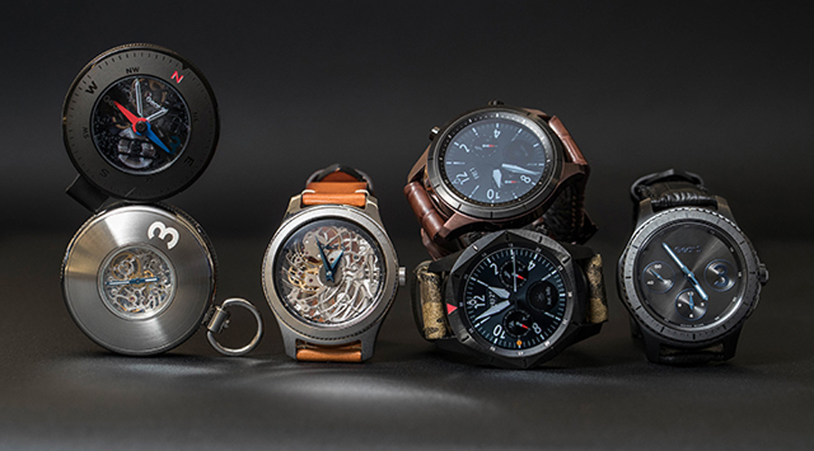 Complete your steampunk cosplay with a Samsung pocket watch