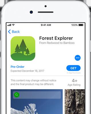Apple Pre-order Apps