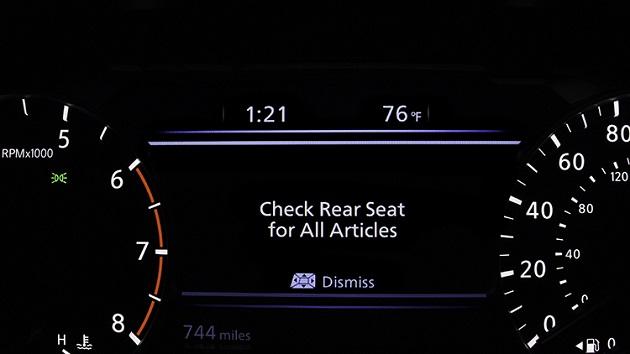 【ビデオ】日産、暑い車内に子供を置き去りにしないようドライバーに注意を促す「リア・ドア・アラート」システムを北米で導入開始