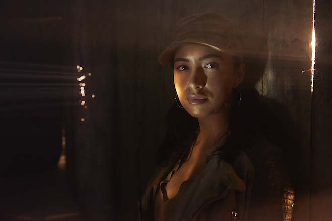 Christian Serratos as Rosita Espinosa - The Walking Dead _ Season 5, Gallery - Photo Credit: Frank Ockenfels 3/AMC