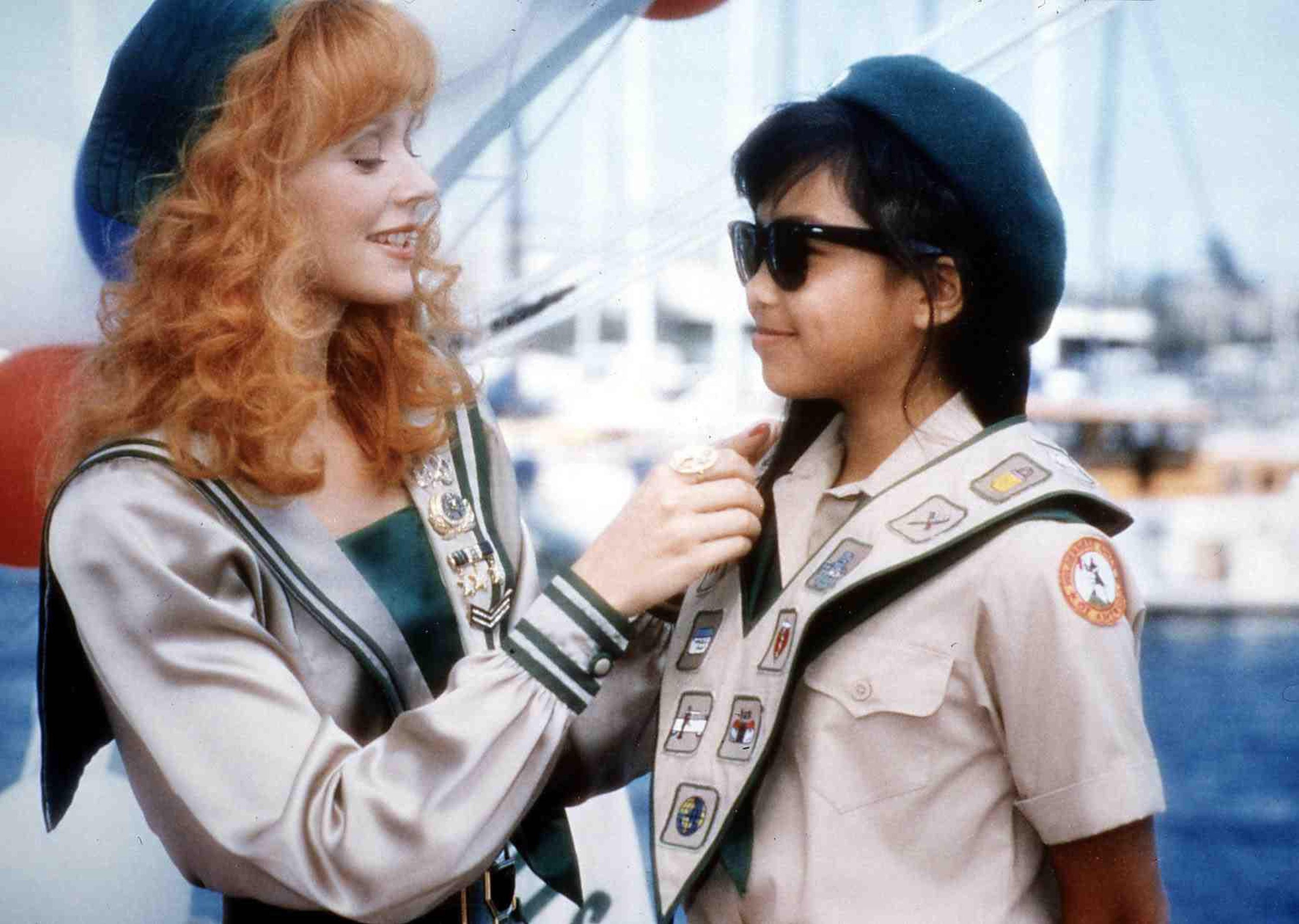 Die Wilde Von Everly Hills   Troop Beverly Hills   Phyllis Nefler (Shelley Long, l) *** Local Caption *** 1988  --