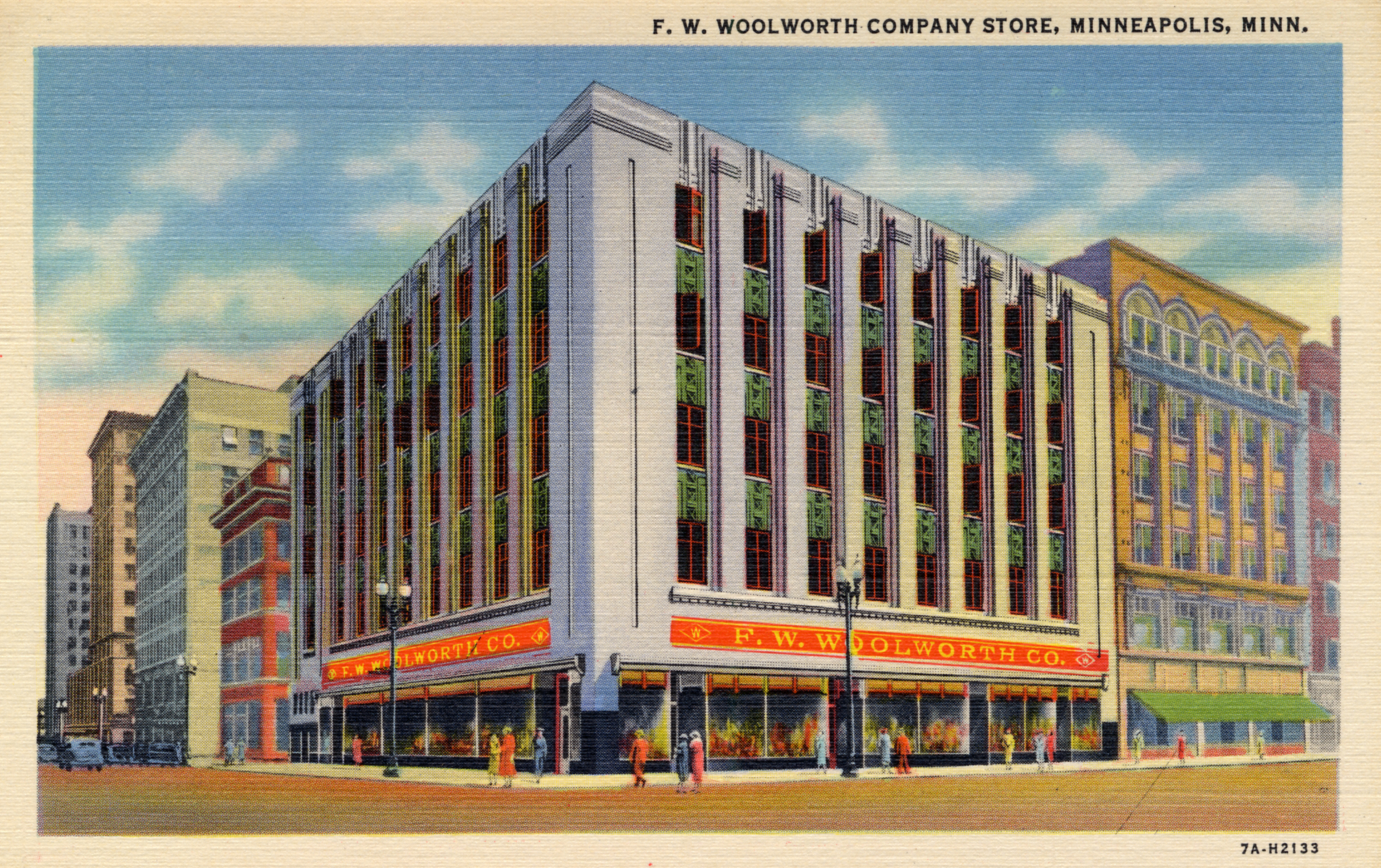 F. W. Woolworth Company Store, Minneapolis, Minnesota