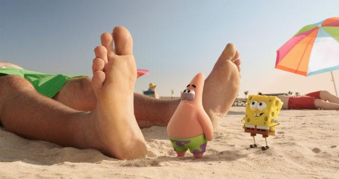 patrick star and spongebob squarepants
