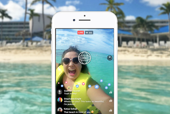 Facebook opens up 360-degree livestreaming to everyone