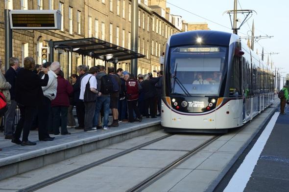 New Edinburgh tram service hailed 'fantastic'