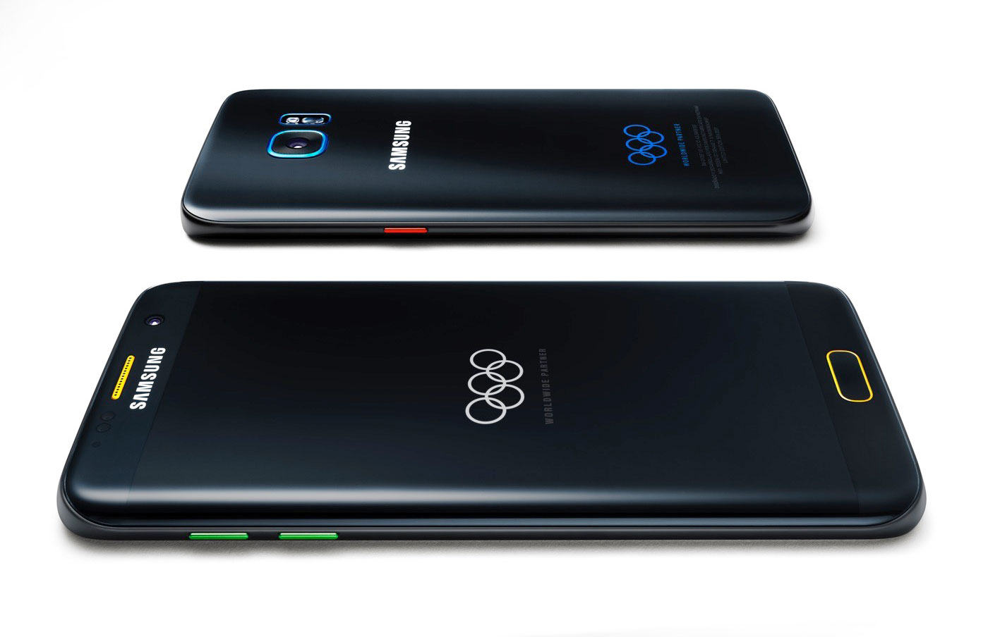 五彩加身!三星推出奥运限量版 Galaxy S7 Edge